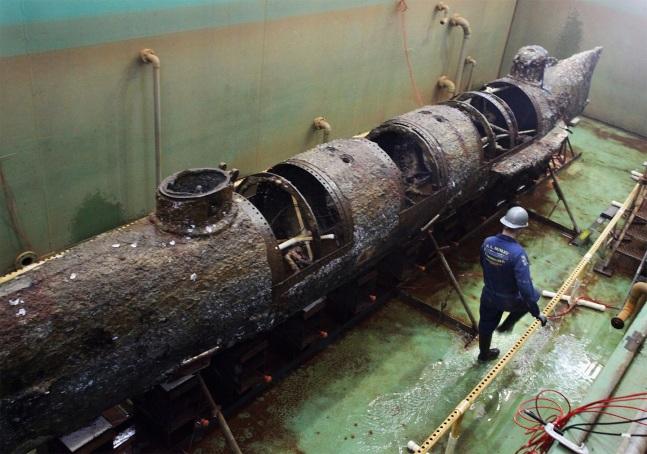 Submarine H L Hunley