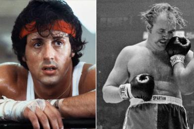 Sylvester Stallone & Chuck Wepner